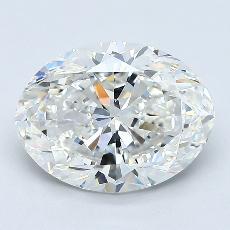 推薦鑽石 #1: 2.50  克拉橢圓形切割