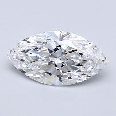 推薦鑽石 #4: 0.80 克拉欖尖形切割