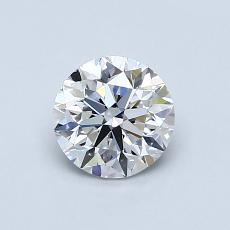 Recommended Stone #2: 0,80-Carat Round Cut