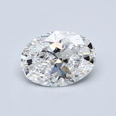 Recommended Stone #1: 0,71-Carat Oval Cut