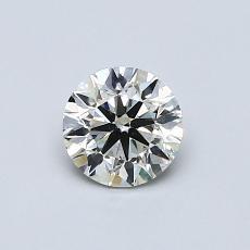 推薦鑽石 #1: 0.57  克拉圓形切割