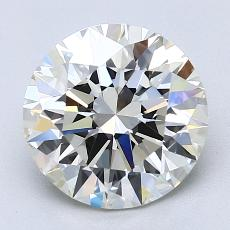Recommended Stone #3: 2.52-Carat Round Cut