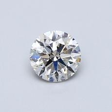 Recommended Stone #3: 0,50-Carat Round Cut