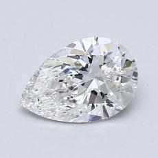 Recommended Stone #1: 1,00-Carat Pear Shaped