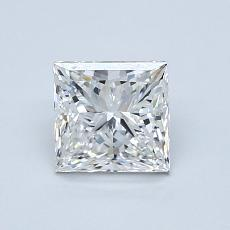 Recommended Stone #1: 1.01-Carat Princess Cut