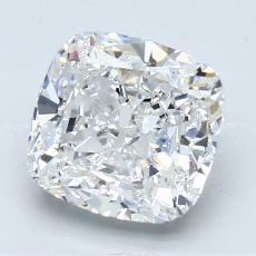 推薦鑽石 #3: 2.03 克拉墊形切割
