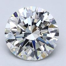 Recommended Stone #3: 2.25-Carat Round Cut