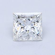 Recommended Stone #2: 1.04-Carat Princess Cut