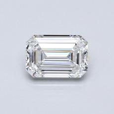 Recommended Stone #2: 0,61-Carat Emerald Cut