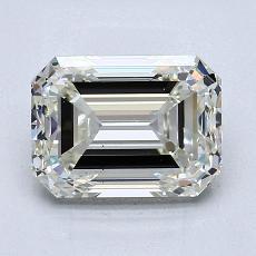 Current Stone: 2.28-Carat Emerald Cut