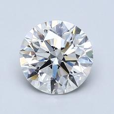 Recommended Stone #4: 1.40-Carat Round Cut