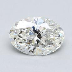 推薦鑽石 #4: 1.00  克拉橢圓形切割