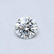 Recommended Stone #4: 0,30-Carat Round Cut