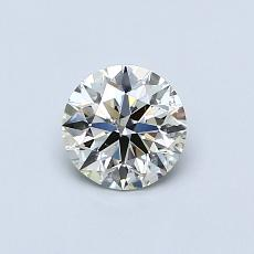 Recommended Stone #1: 0.58-Carat Round Cut