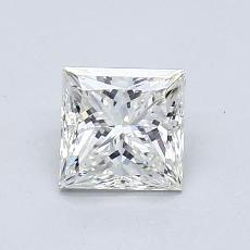 Recommended Stone #1: 0.93-Carat Princess Cut
