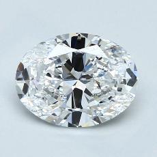 推薦鑽石 #3: 2.01  克拉橢圓形切割
