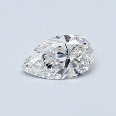 Recommended Stone #4: 0.40-Carat Pear Shaped