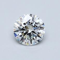 Recommended Stone #4: 0,72-Carat Round Cut
