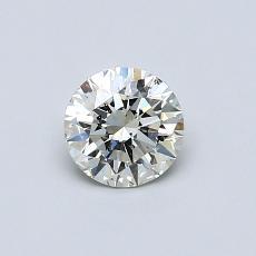 推薦鑽石 #2: 0.51  克拉圓形切割