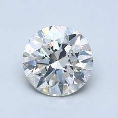 推荐宝石 1:1.10 克拉圆形切割