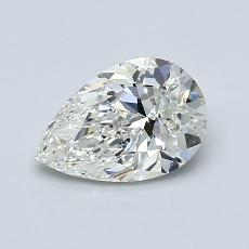 Recommended Stone #3: 0,90-Carat Pear Shaped