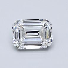 Recommended Stone #1: 0,91-Carat Emerald Cut