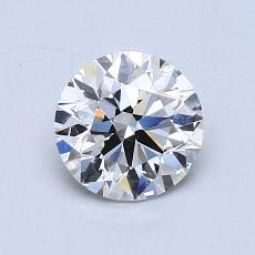 Piedra recomendada 4: Talla redonda de 1.01 quilates