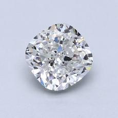 推薦鑽石 #1: 1.07 克拉墊形切割