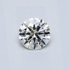 推薦鑽石 #3: 0.42  克拉圓形切割