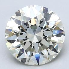 Recommended Stone #2: 3,20-Carat Round Cut