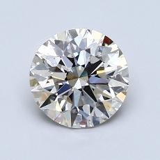 推荐宝石 4:1.22 克拉圆形切割