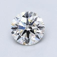 推荐宝石 4:1.04 克拉圆形切割