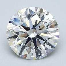 Recommended Stone #4: 2.39-Carat Round Cut