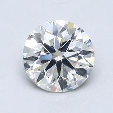 1.00 Carat 圓形 Diamond 理想 H VS2