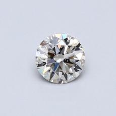0.40 Carat ラウンド Diamond アイデアル K SI2