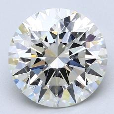 Recommended Stone #4: 3,10-Carat Round Cut