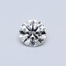 Recommended Stone #2: 0.30-Carat Round Cut
