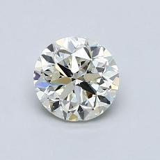 当前宝石:0.90 克拉圆形切割