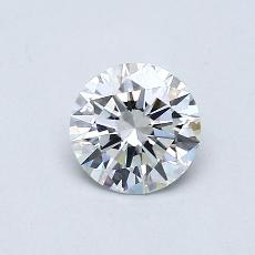 Recommended Stone #1: 0,50-Carat Round Cut