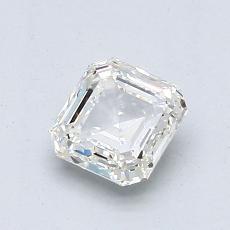 推薦鑽石 #1: 1.00 克拉上丁方形切割