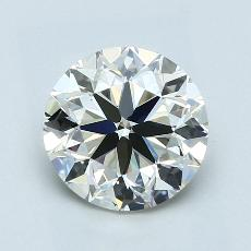 Recommended Stone #3: 2.01-Carat Round Cut