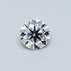 Recommended Stone #4: 0.61-Carat Round Cut