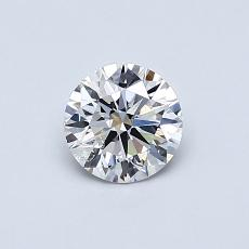 Recommended Stone #1: 0,54-Carat Round Cut