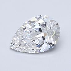 Recommended Stone #2: 1.00-Carat Pear Shaped