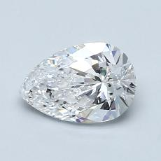 Recommended Stone #1: 1.00-Carat Pear Shaped