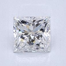 Recommended Stone #3: 1.09-Carat Princess Cut