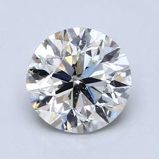 推荐宝石 3:1.50 克拉圆形切割