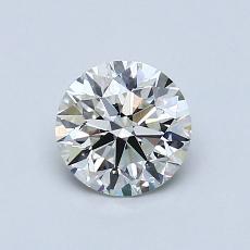 Recommended Stone #4: 0.76-Carat Round Cut