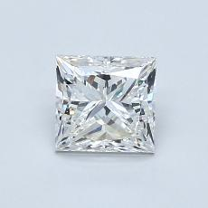 Recommended Stone #1: 0.90-Carat Princess Cut