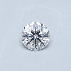 推薦鑽石 #1: 0.26  克拉圓形切割